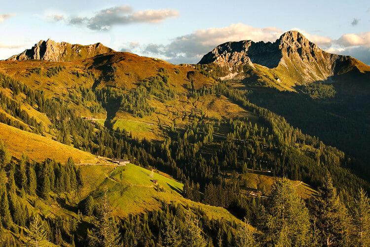 Ausflugsziel im Großarltal, Salzburg - Loosbühelalm im Sommer & Herbst