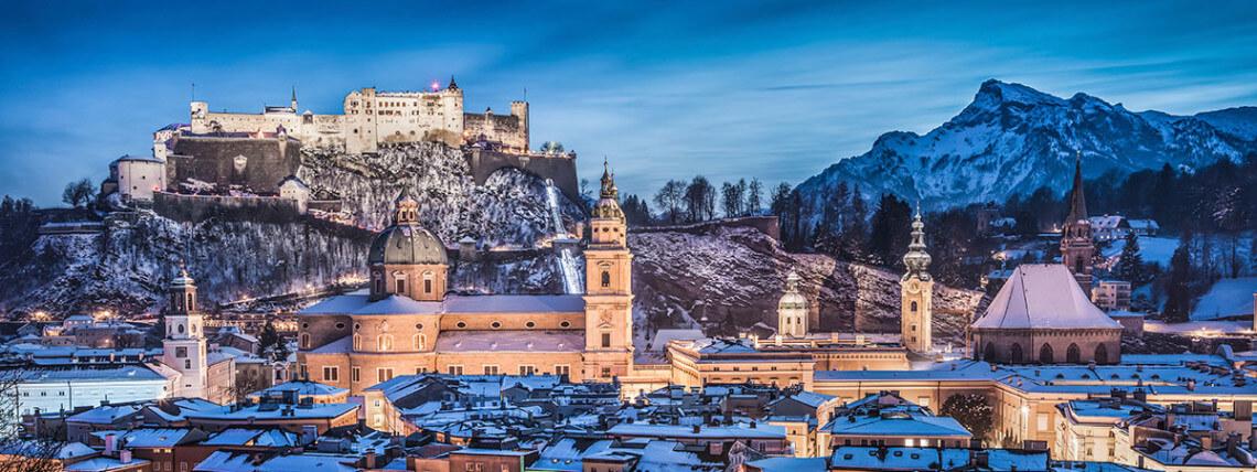 Weltkulturerbe Altstadt Salzburg - Ausflugsziel in der Stadt Salzburg