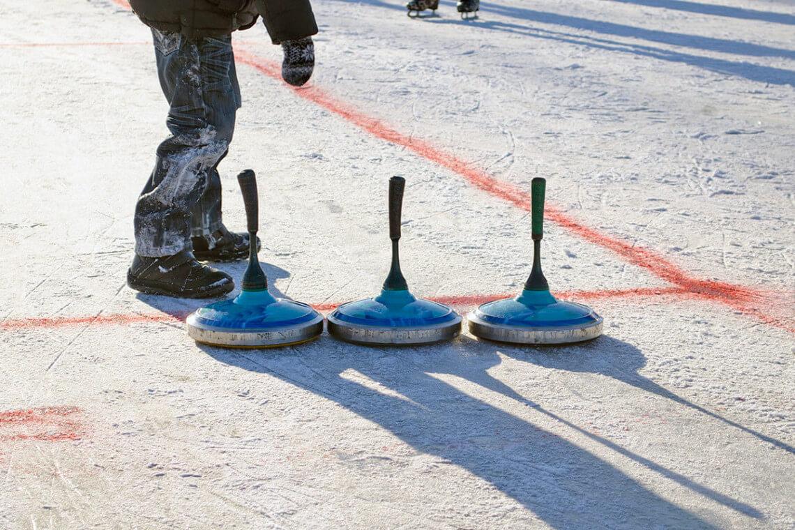 Eisstockschießen - Winterurlaub in Großarl, Großarltal