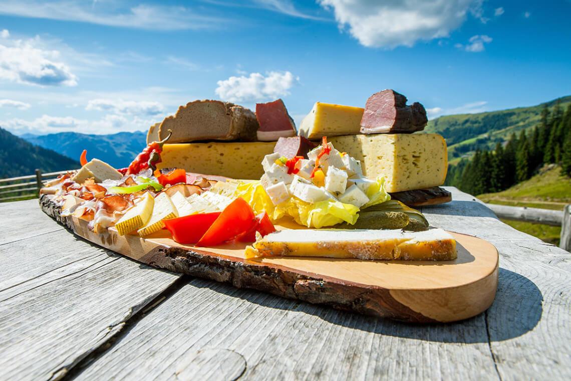 Hofeigene Produkte - Klausbauer, Großarl, Salzburger Land
