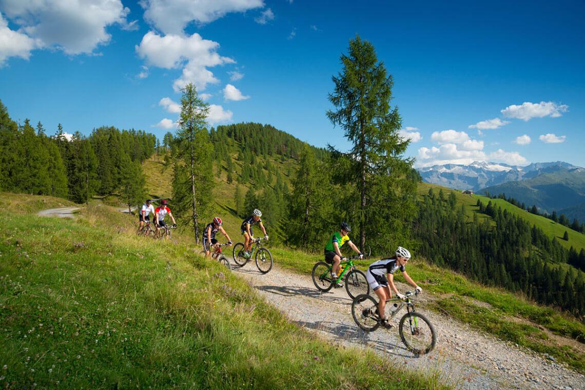Mountainbiken - Sommerurlaub in Großarl, Großarltal