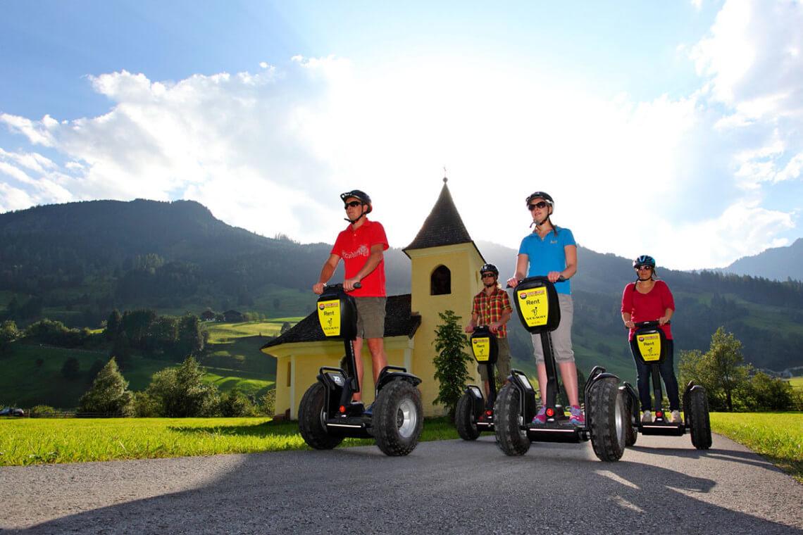 Segway - Sommerurlaub in Großarl, Großarltal