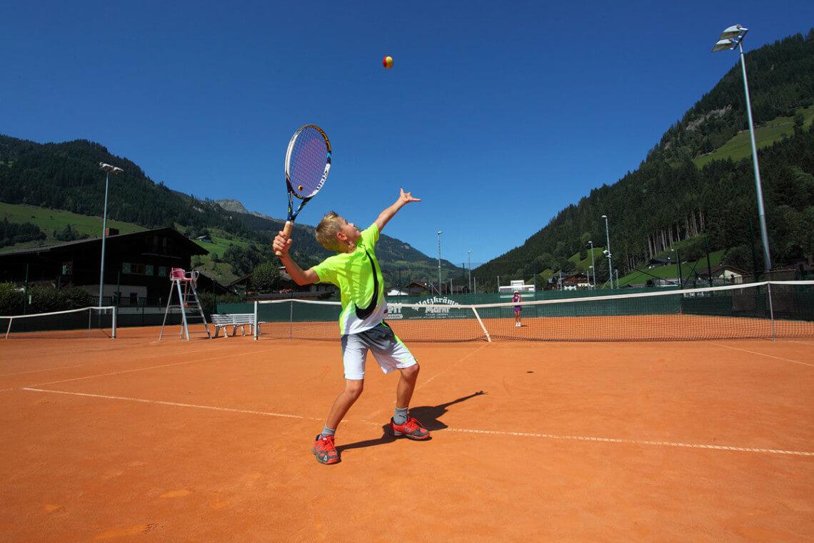 Tennis - Sommerurlaub in Großarl, Großarltal