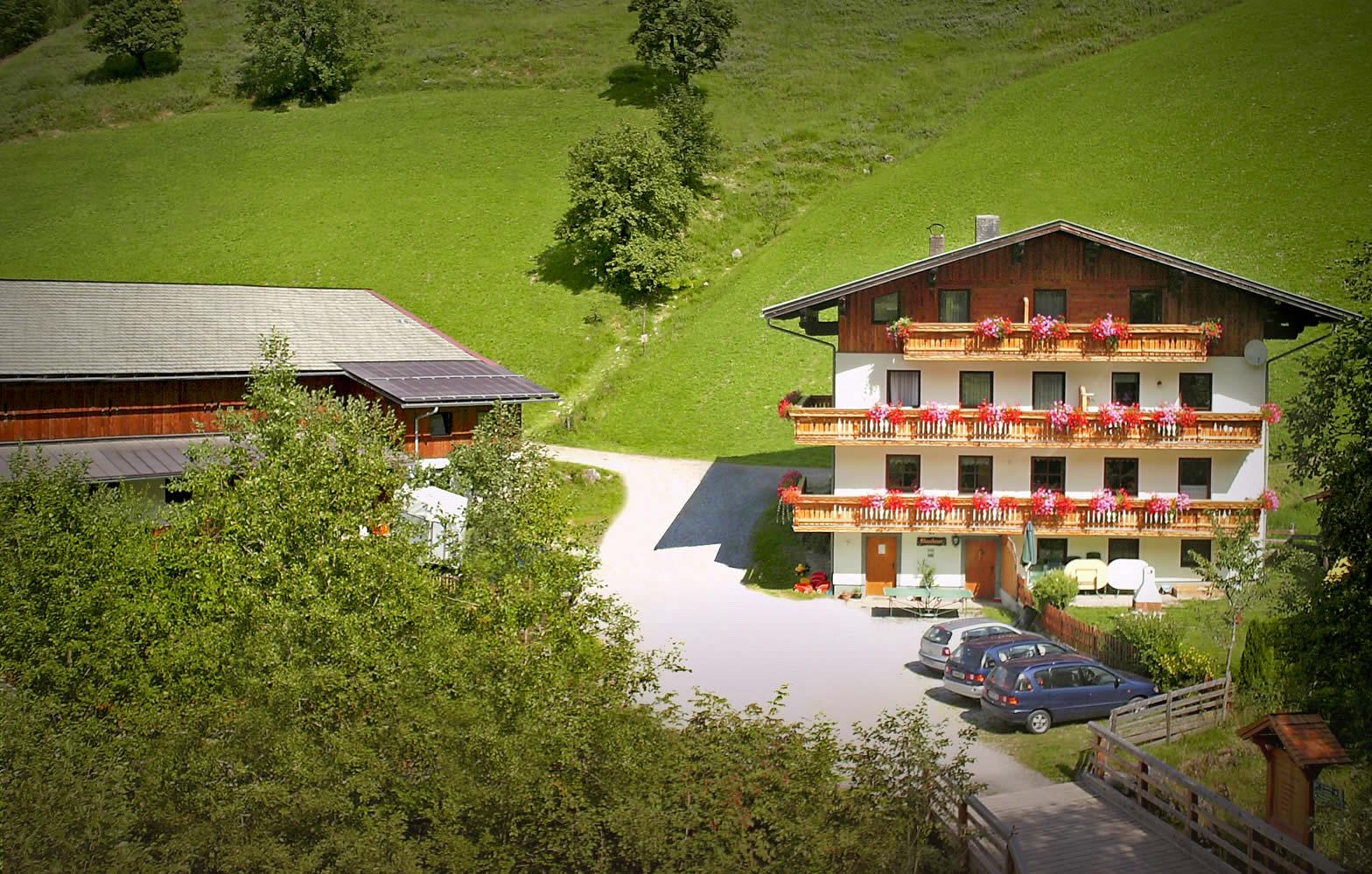 Urlaub am Bauernhof in Großarl - Ferienwohnungen Klausbauer