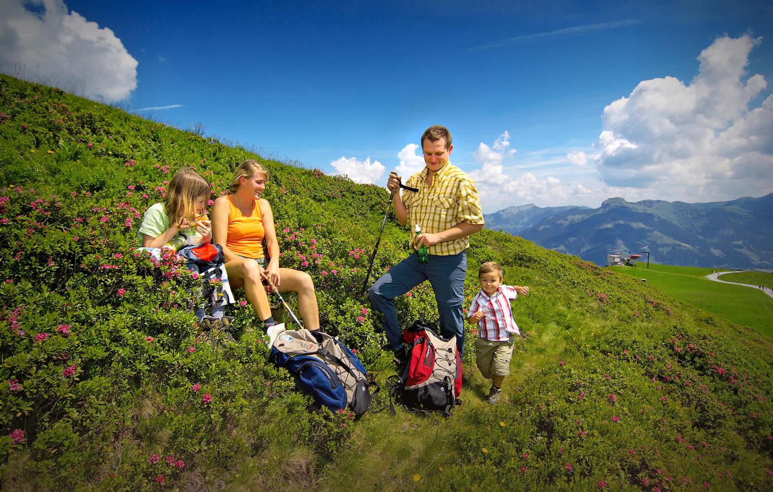 Wandern in Großarl - Klausbauer - Urlaub am Bauernhof