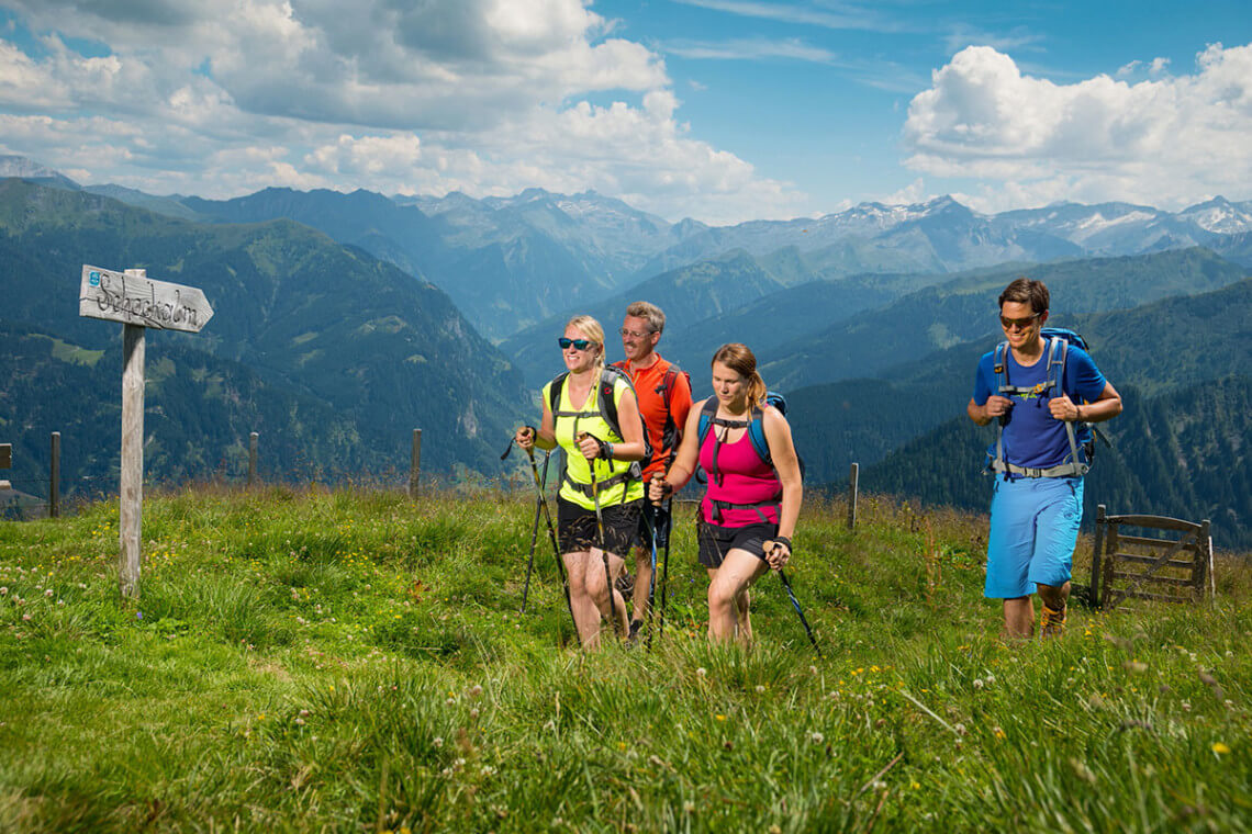 Wanderurlaub - Sommerurlaub in Großarl, Großarltal